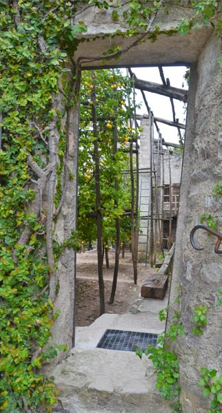 Limonaia La Malora Gargnano - entratra