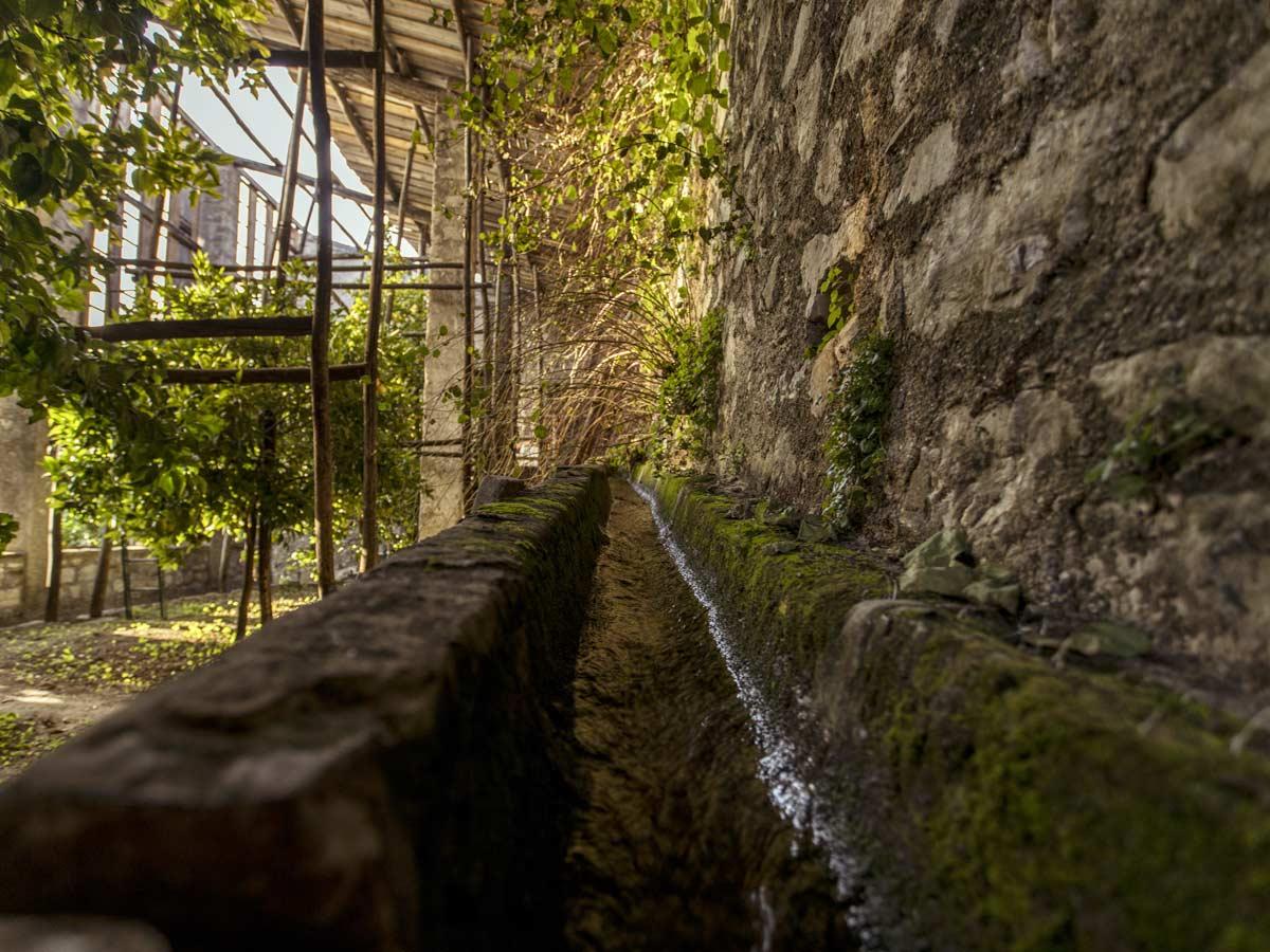 Limonaia la Malora - Gargnano Lago di Garda - irrigazione