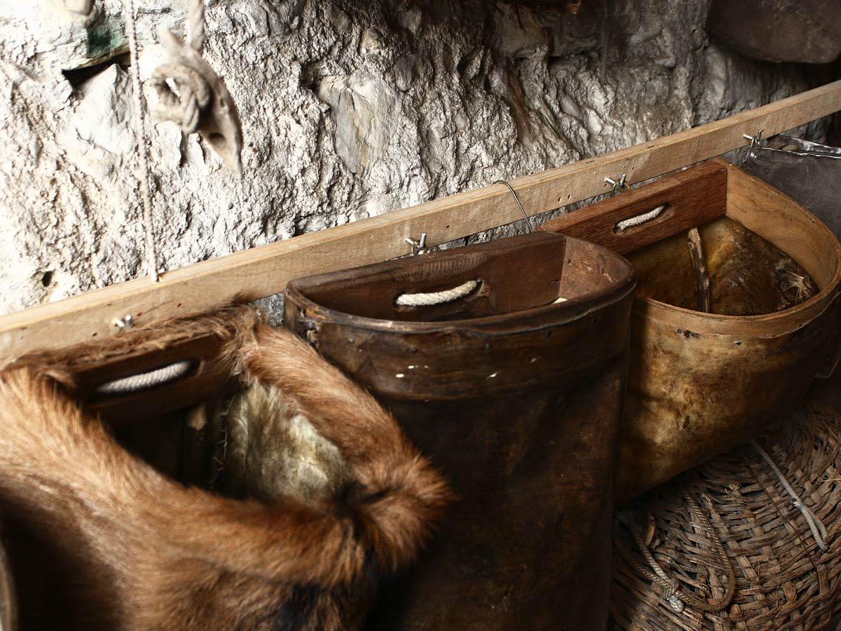 Limonaia la Malora - Gargnano Lago di Garda - gli attrezzi da lavoro