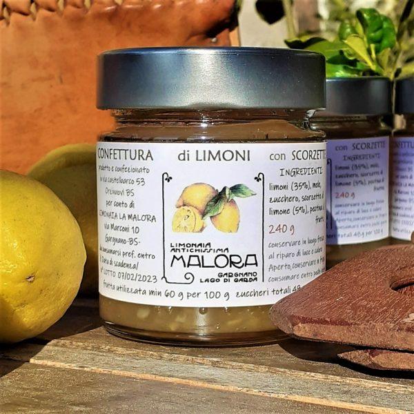 Marmellata di limoni lago di Garda